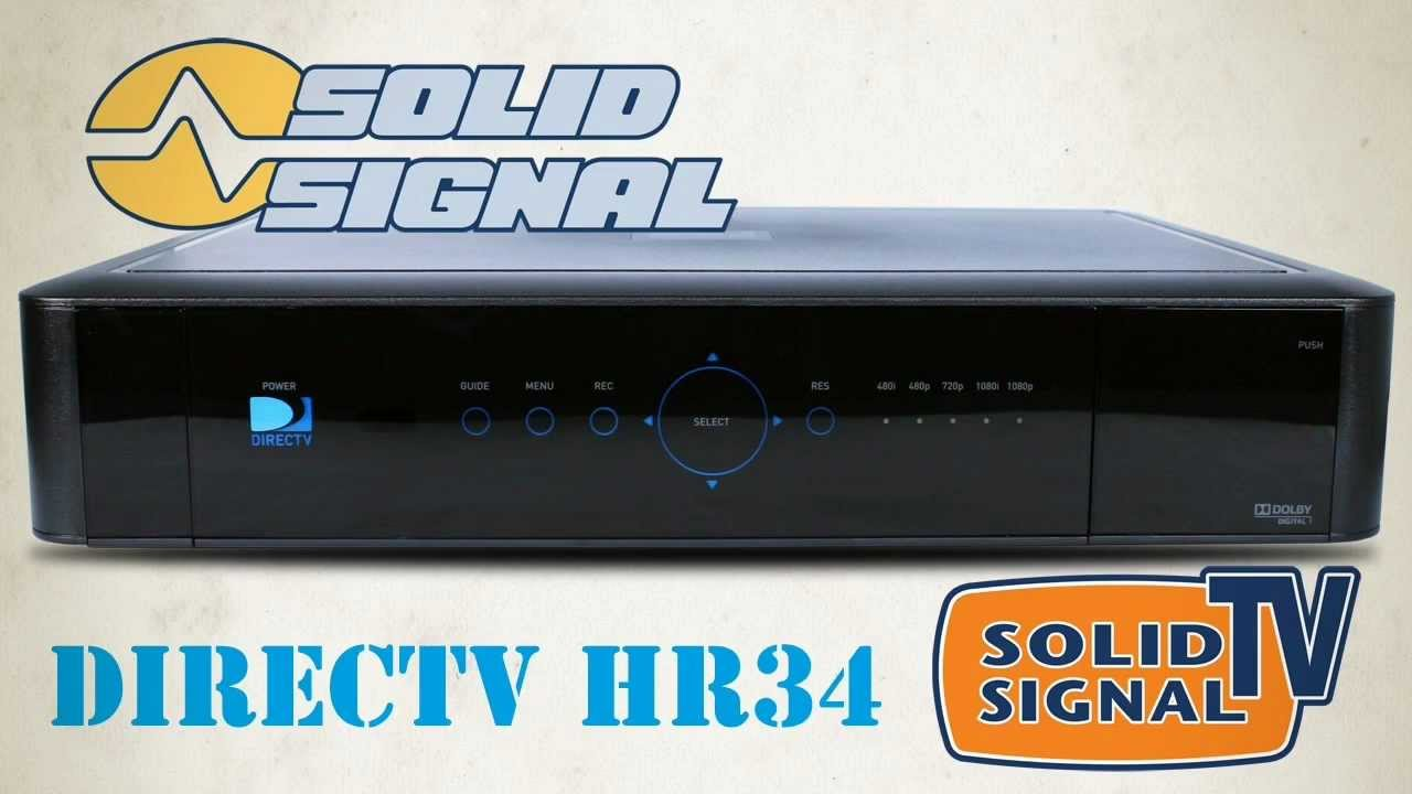 Directv Hr34  U0026quot Genie U0026quot  With Hd User Interface First Video - Solid Signal Review