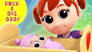 Rock A Bye Baby | Nursery Rhymes | Kids Songs | Baby Rhyme For Children By Luke & Lily