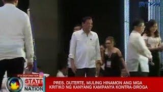 SONA: Pres. Duterte, isiniwalat ang umano'y planong mga pagkilos laban sa kanyang administrasyon