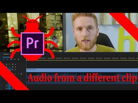 Premiere Pro playing wrong Audio from Video clips | Bug Fix