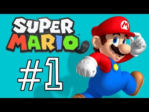 Super Mario 3D Land Walkthrough: Intro /  World 1-1. 1-2 (Part 1)