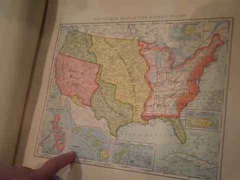 World and Otoe County Atlases - The History Harvest