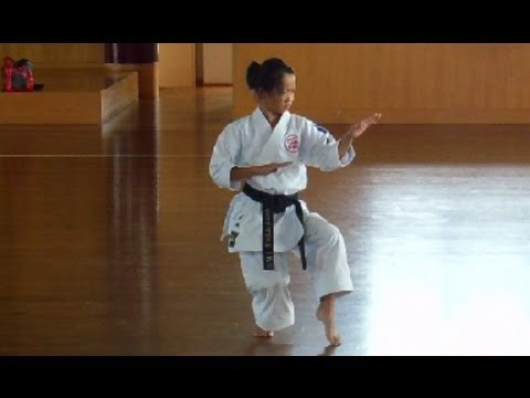 11 Year Old Girl Karate Champion in Japan! Image 1