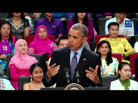 Obama's YSEALI Town Hall in Malaysia - Full Event