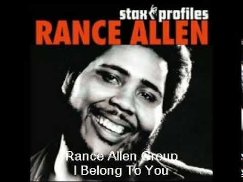 Rance Allen - I Belong To You
