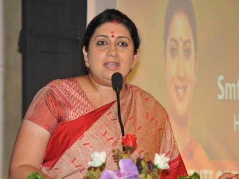 Smriti Irani Removed From I&B Ministry | Piyush Goyal to Step in for Arun Jaitley in Finance