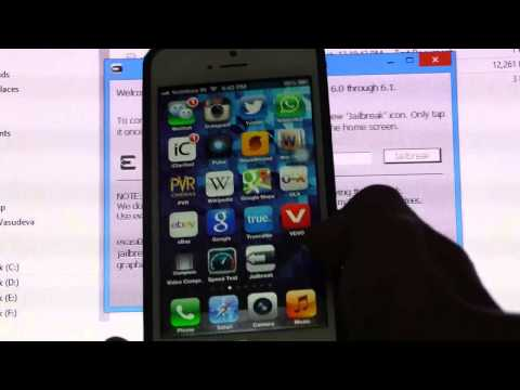 How To Jailbreak - iOS 6.0.1. 6.0.2. 6.1 UNTETHERED - Evasion - iPhone 5.4.4S.3GS. iPad 2.3.4
