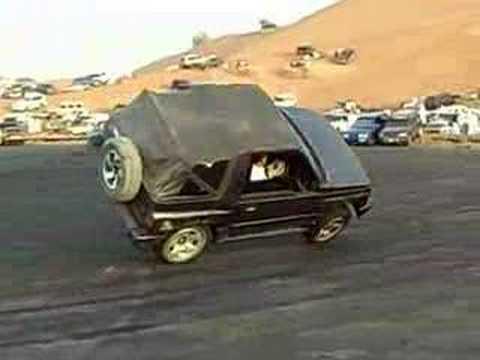 Vitara on 2 tires