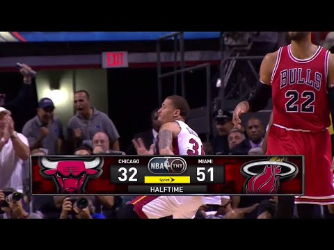 [Ep. 27] Inside The NBA (on TNT) Halftime Report – Chicago Bulls vs. Miami Heat Highlights - 4-9-15
