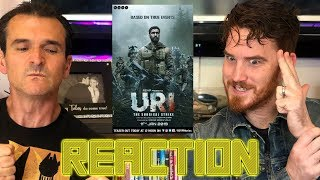 URI - The Surgical Strike | Vicky Kaushal | Yami Gautam |  Trailer REACTION and REVIEW!!!!!