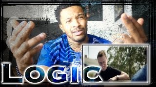 MY FIRST LOGIC SONG EVER! BLACK SPIDER MAN REACTION!