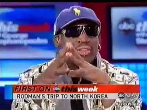 Dennis Rodman Defends Rogue North Korean Regime