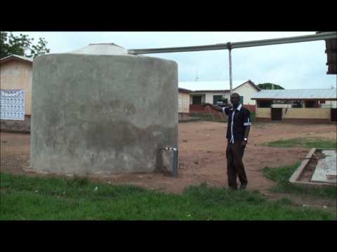 Green Cross installs rainwater harvesting system in Ghana schools