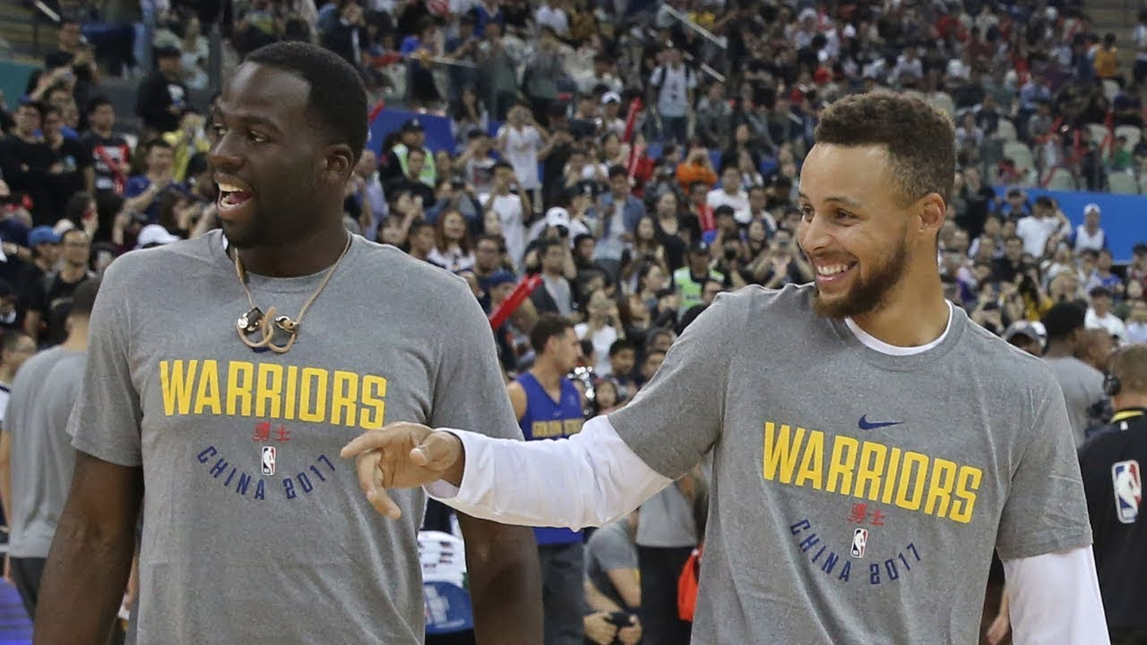 Draymond Green happy to Steph Curry ball out | ESPN