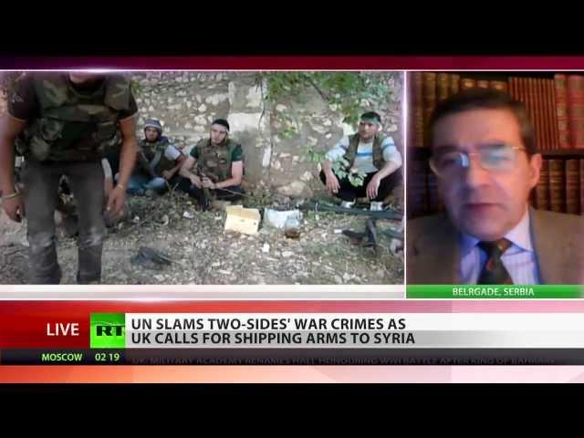 'ICC enemy of liberty, Syria war crimes trial will replay Yugoslavia scenario'