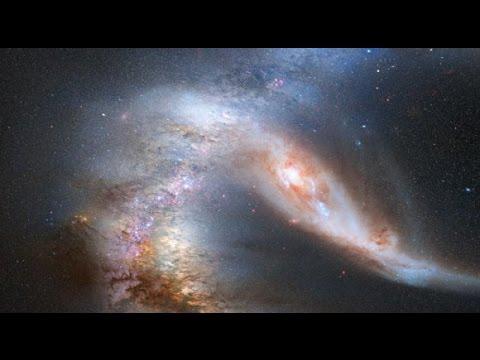 Галактические столкновения. Galactic collision.