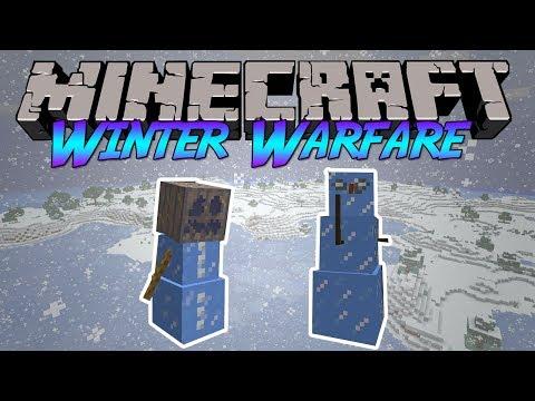 Minecraft: Winter Warfare Mod Review [1.6.4]