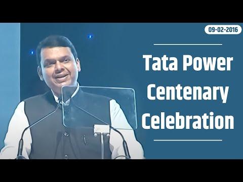 CM Shri Devendra Fadnavis at Tata Power centenary celebration