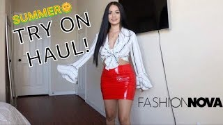 SUMMER TRY ON HAUL! | FASHION NOVA