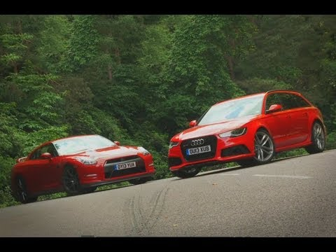 Nissan GT-R vs Audi RS6 Avant shootout - autocar.co.uk