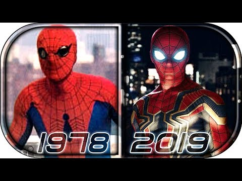 EVOLUTION of SPIDER-MAN in Movies (1978-2019) Spider-Man: Far From Home Official trailer endgame thumbnail