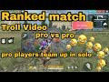 Free  fire Ranked match || pro vs pro || Troll || wft gameplay || Hit 1k LIKES