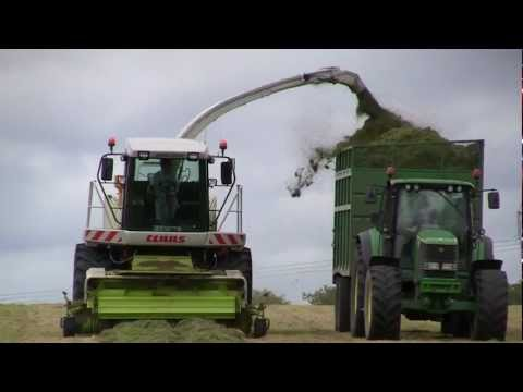 Silage 2012 coming soon New Holland John Deere Claas Krone