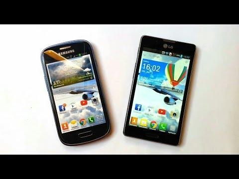 [2/2] Samsung Galaxy S3 mini vs LG Swift L7 II PL