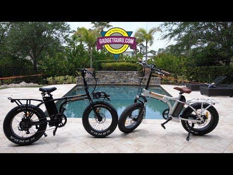 2017 vs 2018 Rad Mini E-Bike Comparison Review - Electric Folding Bike