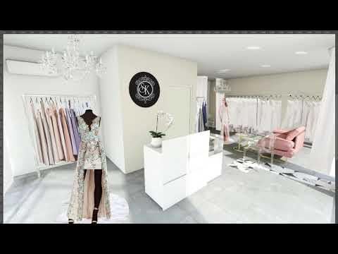 Aménagement & Décoration - Boutique Haute couture - Toulon