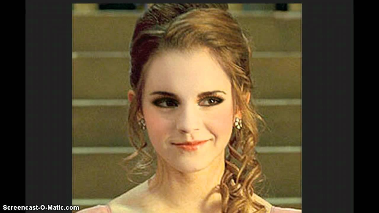 hirthick roshan krish movie hair style : Hermione Granger Yule Ball Hair Hermione Granger Yule Ball Hair Back ...
