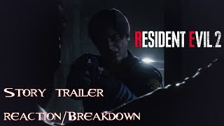 Resident Evil 2 Remake - Tokyo Game Show Story Trailer Reaction + Analysis!