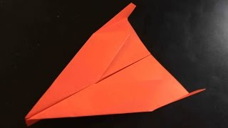 How to make a cool paper plane origami: instruction| Delta