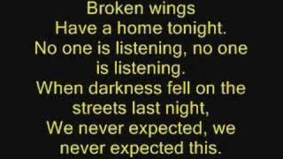 Watch Bleed The Dream Broken Wings video