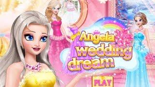 Angela Princess Wedding Dream - Dress Up Angela - Fun Games For Girls