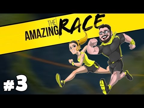 The Amazing Race Special Podcast with Burnie & Ashley #3