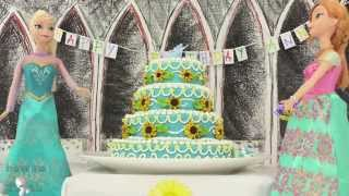 ELSA AND ANNA, FROZEN FEVER CAKE How To Cook That Ann Reardon