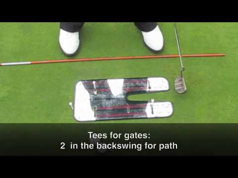 Graeme McDowell's Drill with the Putting Mirror at the 2010 US Open