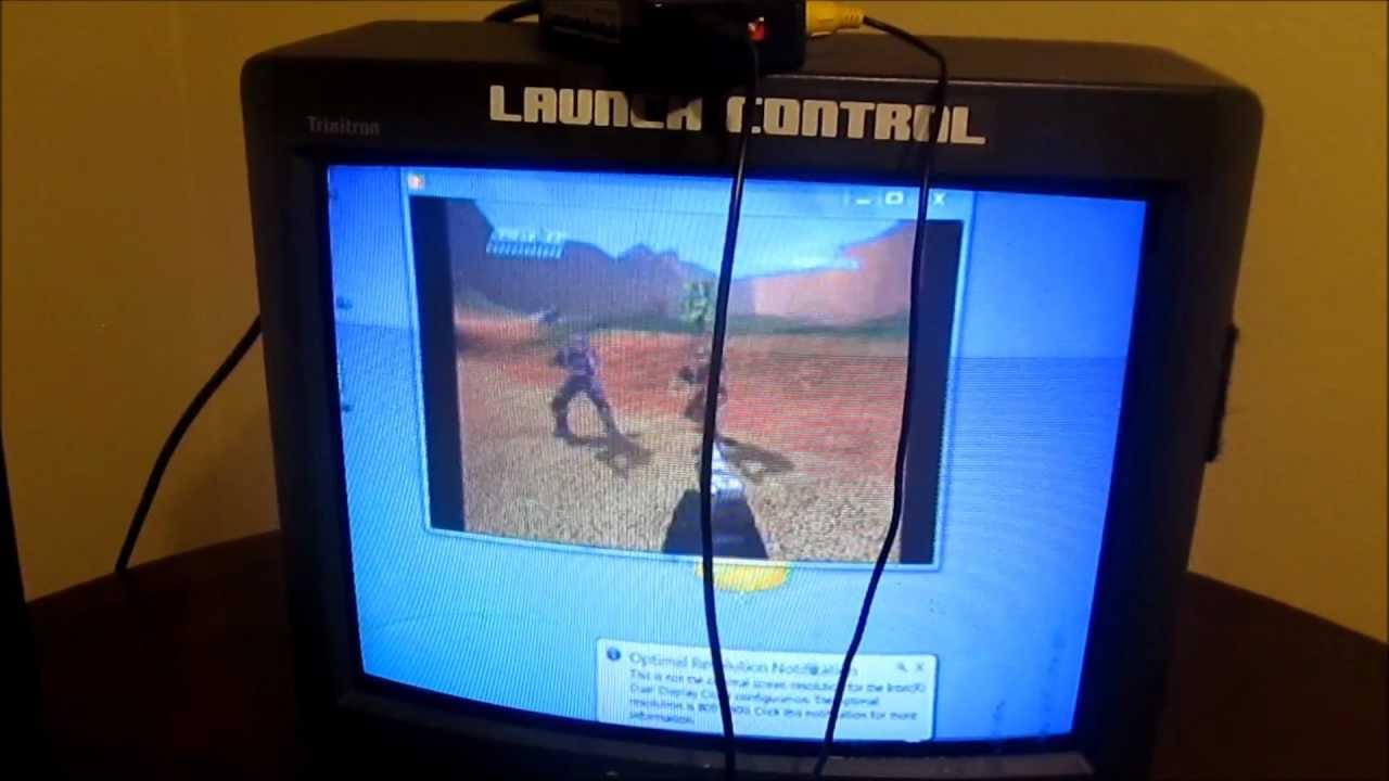 Как с монитора компьютера сделать телевизор