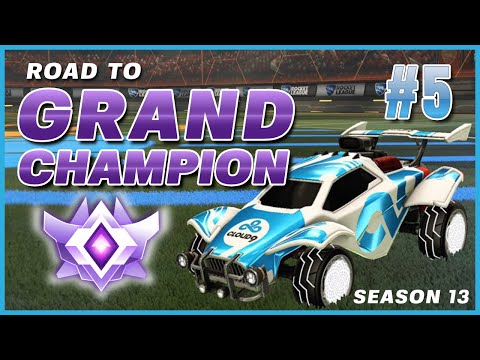 DIAMONDS CAN HIT CEILING SHOTS NOW?! | GETTING CLIPPED ON | ROAD TO GRAND CHAMP #5