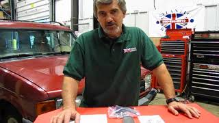 Atlantic British Presents: Fuel Filter Replacement On Discovery I