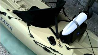 KAYAK FISHING TAIWAN - OCEAN KAYAK TORQUE 電動舟