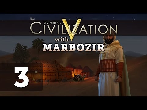 Civilization 5 Brave New World Deity Morocco Let's Play - Part 3