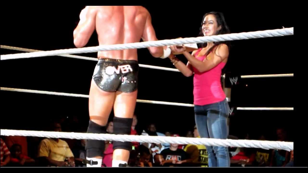 miz tv with john cena and aj dating