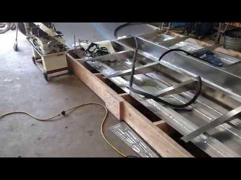 Homemade Aluminum Jet Boat