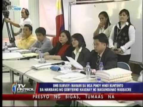 Many Pinoys not content with govt handling of Maguindanao massacre case