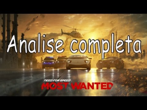 Need for Speed Most Wanted 2012 - Anlise completa