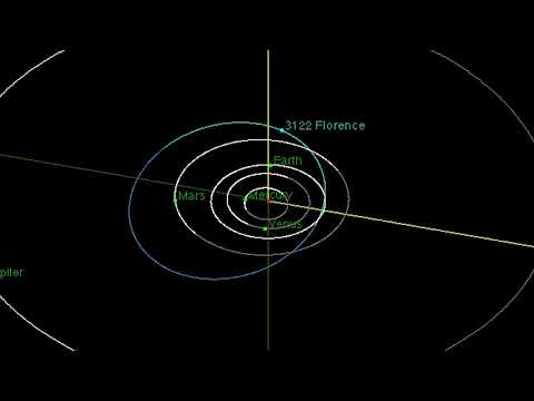 Huge Asteroid Florence to Fly By Earth on September 1