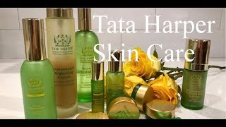 TATA HARPER SKINCARE...HONEST REVIEW!!! IS GREEN BEAUTY THE WAY TO GO? WATCH AND FIND OUT!!!
