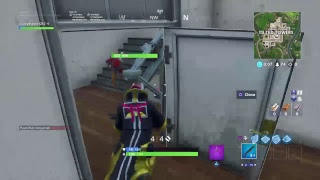 Haveing fun on fortnite